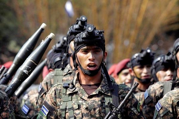 Lanzamiento de las Fuerzas Especailizadas de Reacción El Salvador, FES.