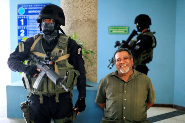 Raul Mijango, a former lawmaker who was among the Salvadoran officials who negotiated a gang truce, was arrested this month. Credit Jose Cabezas/Reuters