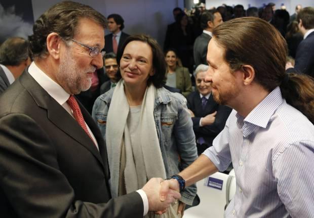 Mariano Rajoy y Pablo Iglesias EFE