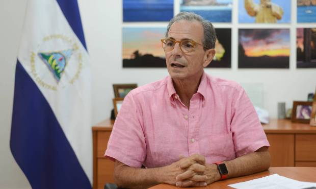 El líder opositor nicaragüense Eduardo Montealegre. CARLOS HERRERA