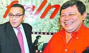 """José Luis Merino (""""Ramiro"""") y Mauricio Funes"""