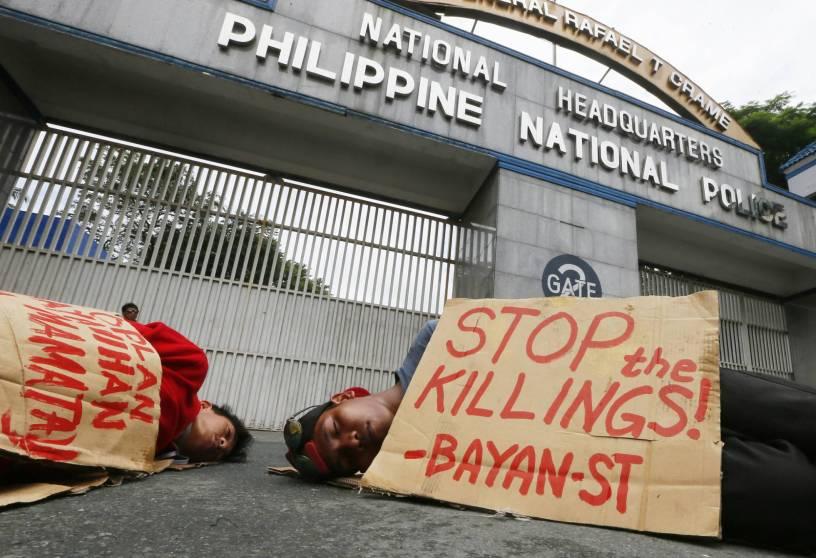 Protesta contra las ejecuciones extrajudiciales en Filipinas. Bullit Marquez AP