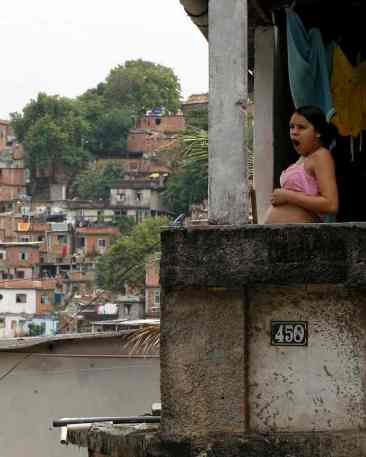 'I am infected by the Zika virus. I don't plan to get pregnant any time soon but, if I do, I will worry whether my baby will be born healthy.' Photograph: Buda Mendes/LatinContent/Getty