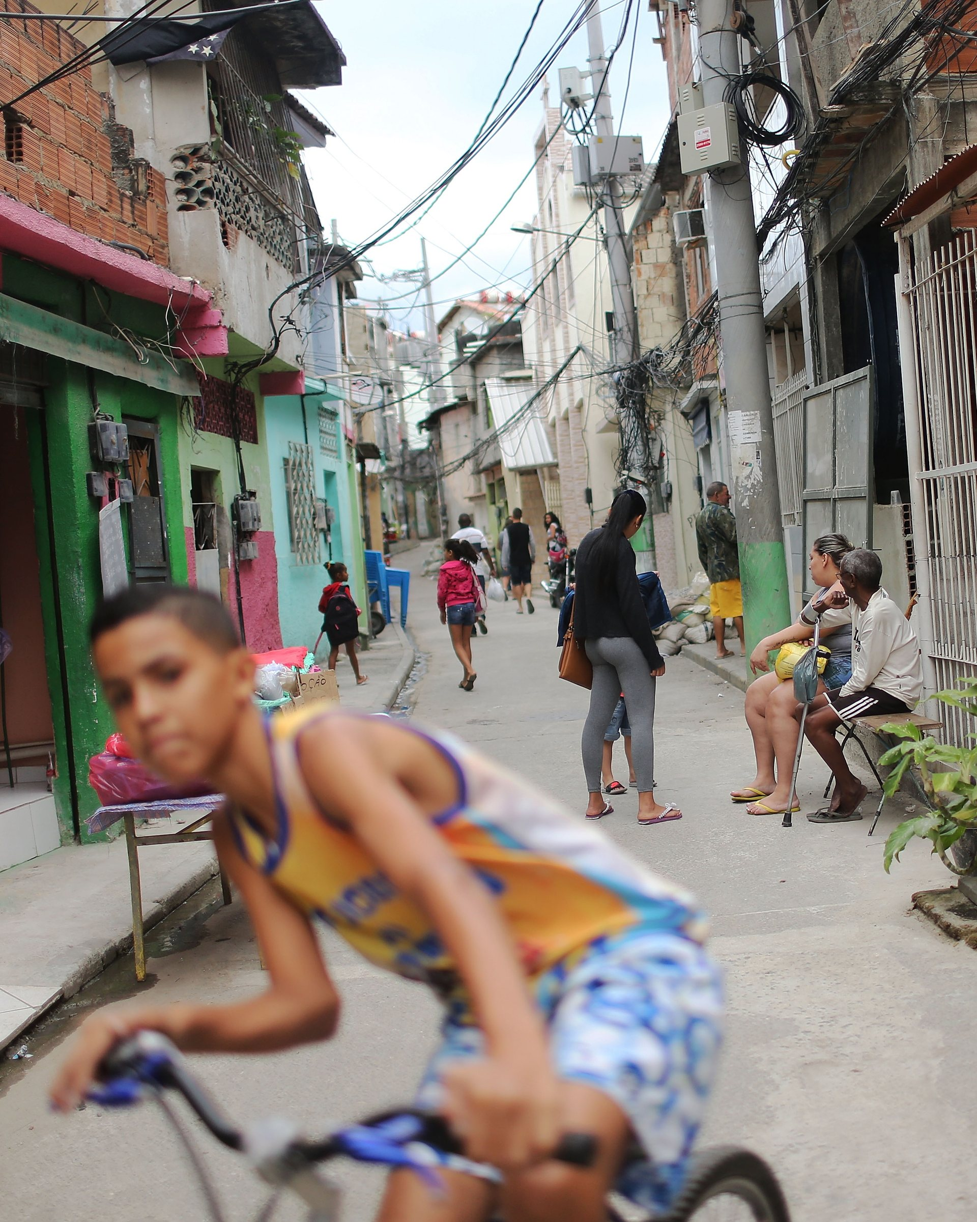Life on the margins of Rio's upcoming Olympics. Photograph: Mario Tama/Getty