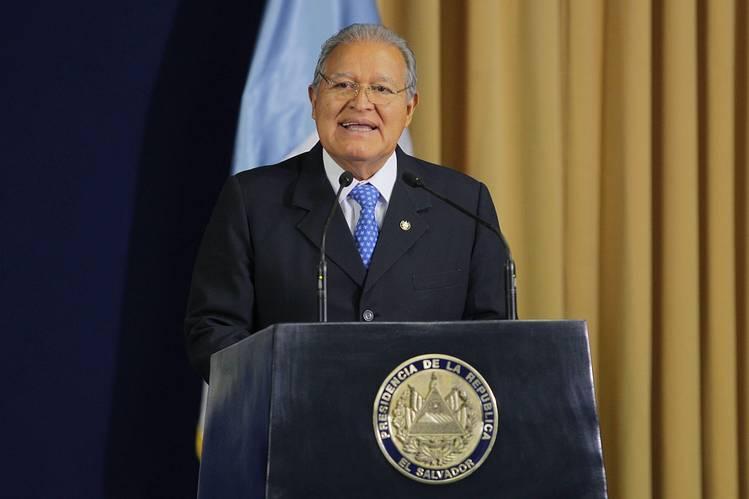 Salvador Sánchez Cerén, presidente de El Salvador. ENLARGE Salvador Sánchez Cerén, presidente de El Salvador. Photo: European Pressphoto Agency
