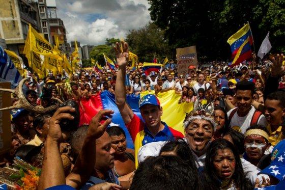 La Toma de Caracas del 1 de septiembre 2016