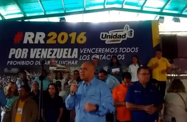 Conferencia de prensa de la MUD, 26 septiembre 2016
