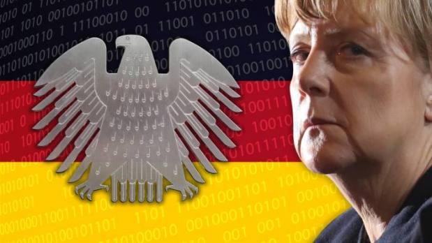 Angela Merkel rightly insists that Berlin will move forward only with partners © FT montage