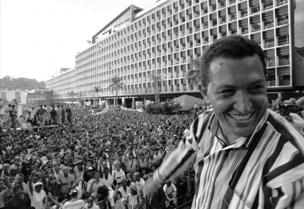 Hugo Chavez was a populist, too. His opponents never figured out how to beat him. (AP Photo/Jorge Santo)