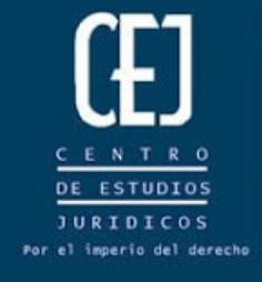 centro estudios CEJ