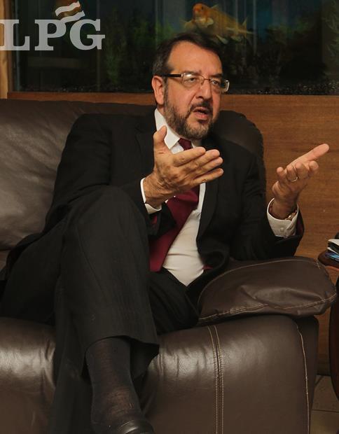 """Dr. José Miguel Fortín Magaña, exdirector de Medicina Legal, fundador del """"Movimiento Libertad"""""""