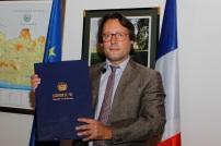 David Izzo, Embajador de Francia