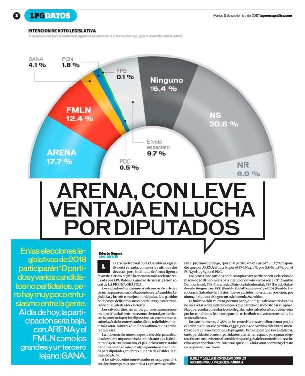 LPG20170905 - La Prensa Gráfica - PORTADA - pag 2