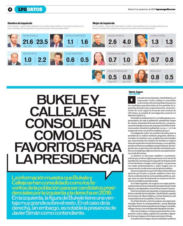 LPG20170905 - La Prensa Gráfica - PORTADA - pag 4